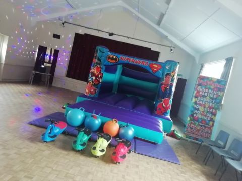 Ultimate Bouncy Castle Party Package