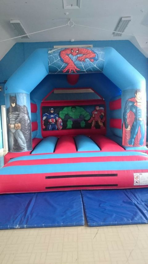 Velcro Hero Castle