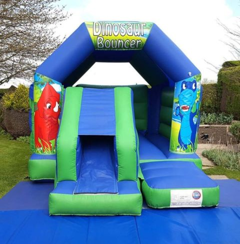 Dinosaur Slide And Bounce Combo