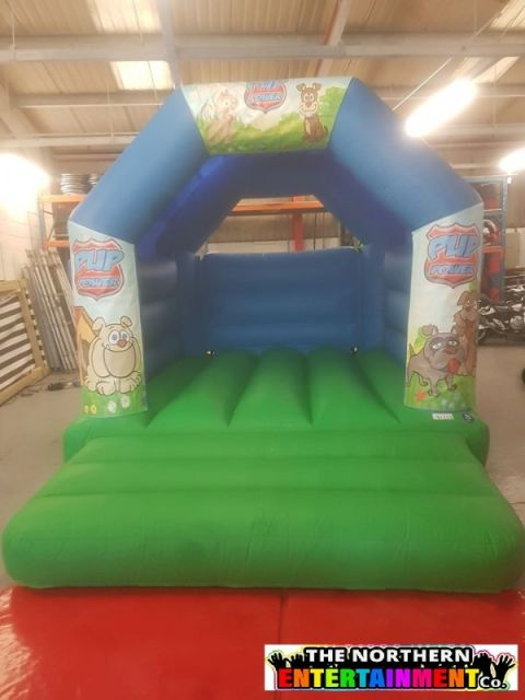 Puppy Power Bouncy Castle Childrens Party Inflatable Durham