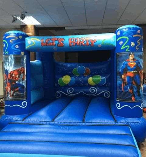 Boys Superhero Castle