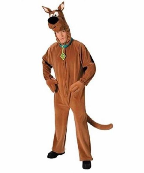 Scooby Doo Deluxe Fancy Dress Costume