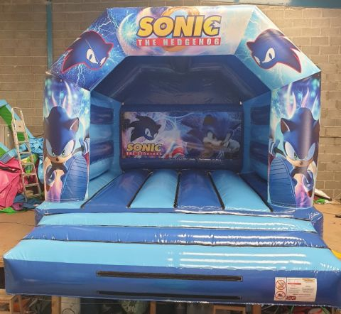 Sonic The Hedgehog Bouncy Castle Hire In Liverpool