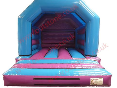 Blue And Purple Interchangeable Bouncy Castle