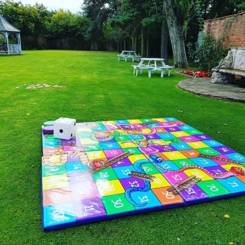 Giant Snakes And Ladders Games Hire County Durham