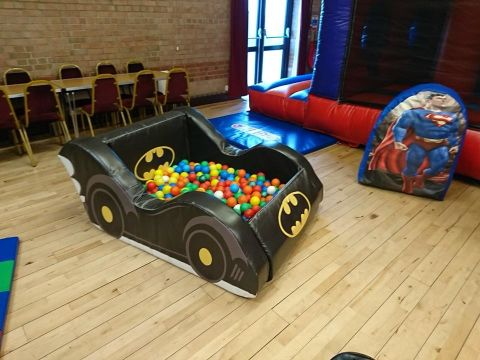 Batmobile Ball Pit