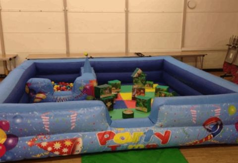 Party Time Toddler Play Area