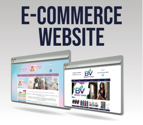 Website With E-commerce