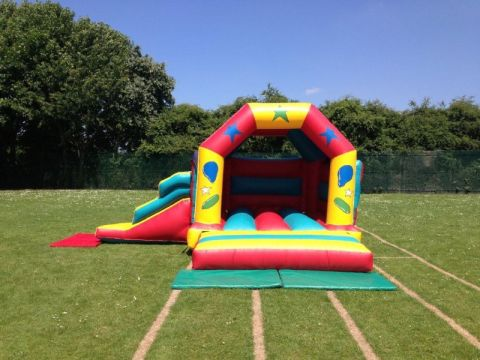 Combo Bouncy Castle With Slide