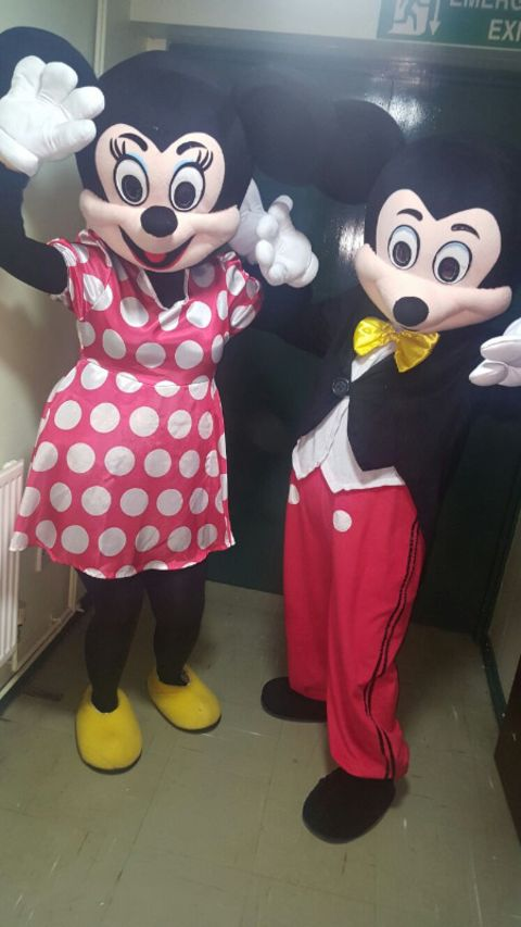 Mickey & Minnie Mascot