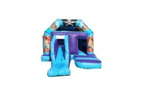 Pirate Front Slide Castle