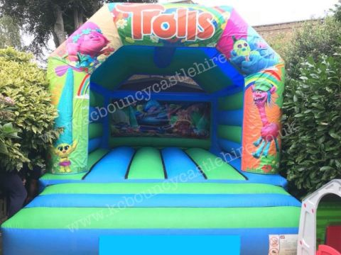 Trolls Bouncy Castle Hire Liverpool