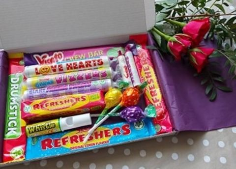 Mini Dairy-free Retro Sweet Box