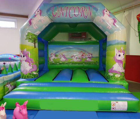 Unicorn 12ft X 15ft Bouncy Castle Hire