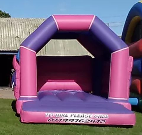 Purple And Pink Velcro Castle