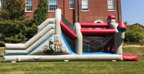 26ft Castle Obstacle Course
