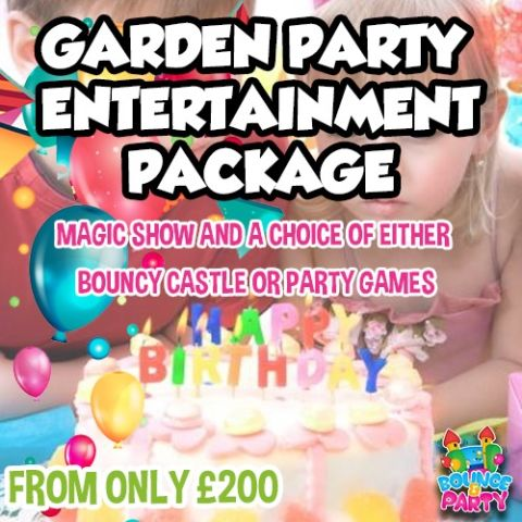 Garden Party Entertainment Package