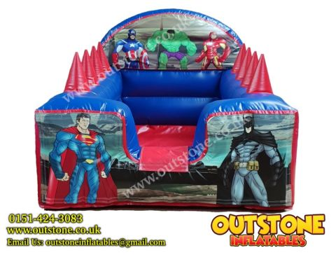 Super Heroes Interchangeable Ball Pool
