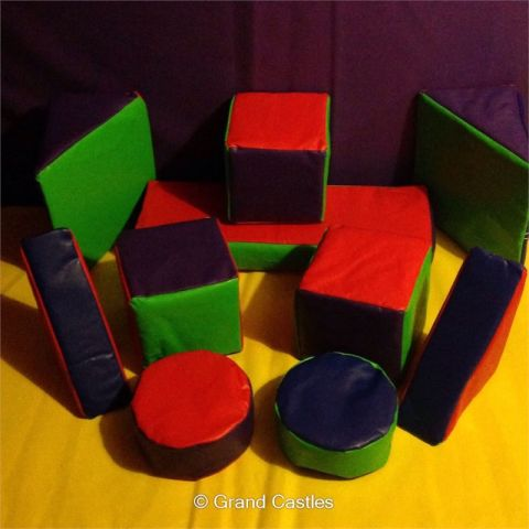 10pc Multi Colour Soft Play