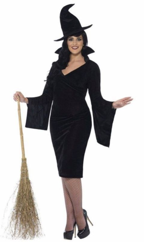 Curves Witch Fancy Dress Costume (xx-large)