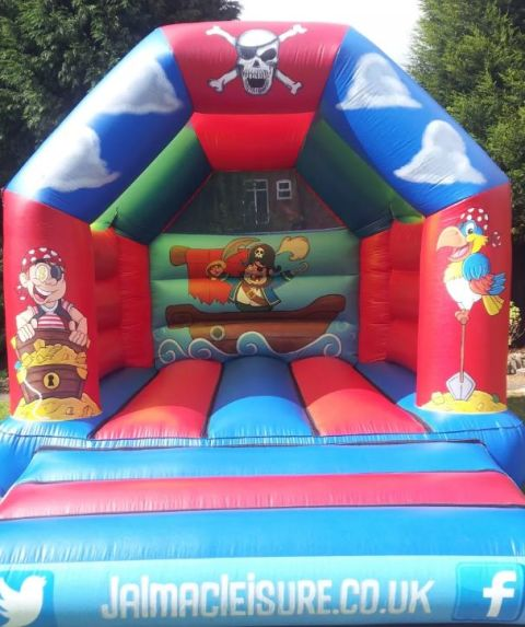 Pirate Themed Bouncy Castle 12 X 14 And 10x10 & Soft Play Package