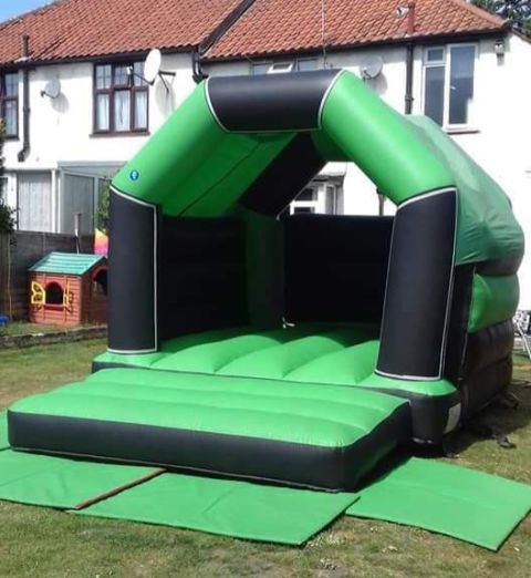 Black And Green Velcro Castle