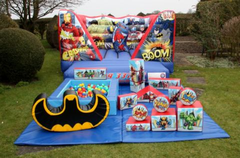 Superhero V Front 8 Years And Under Package