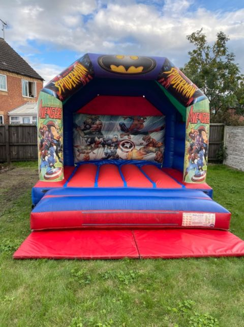 Super Hero Bouncy Castle