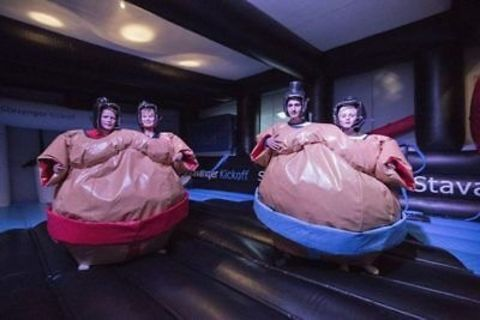 Twin Wrestling Sumo Suits