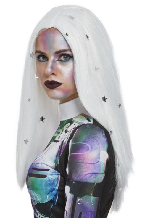 Cosmic Silver Wig