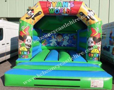 Ryans World Bouncy Castle Hire Liverpool