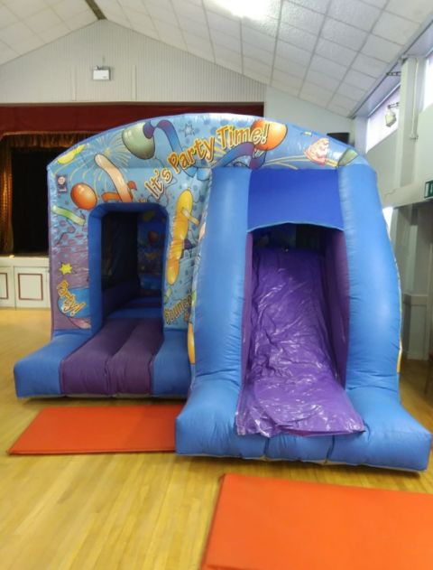 Party Time Front Slide Combi