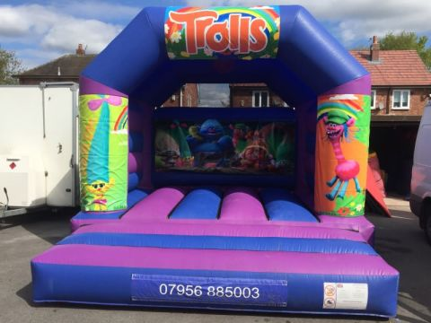 Trolls Bouncy Castle 12 X 14
