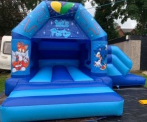 Interchangeable Sonic The Hedgehog Themed Combi Castle