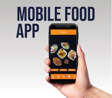 Food Take Away Style Website With E-commercemobile Food App