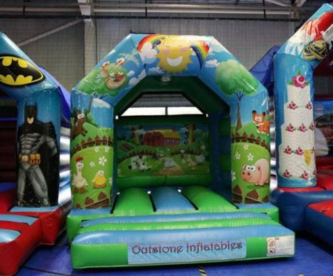10ft X 12ft Farm Yard Castle Hire Liverpool