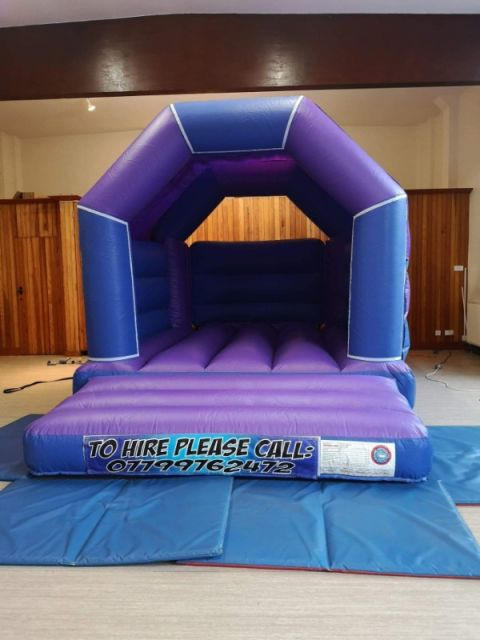 Purple And Blue Velcro Castle