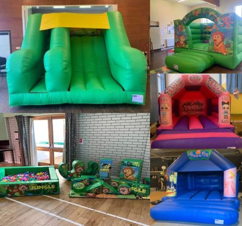 Any Bouncy Castle With Soft Play And Slide