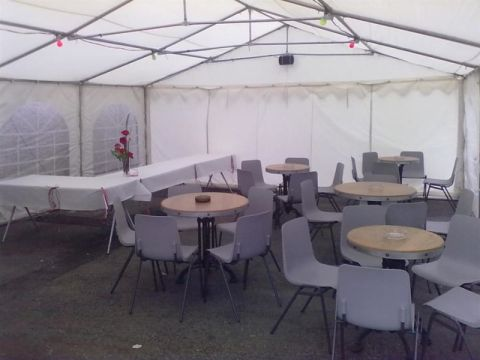6x8m Marquee