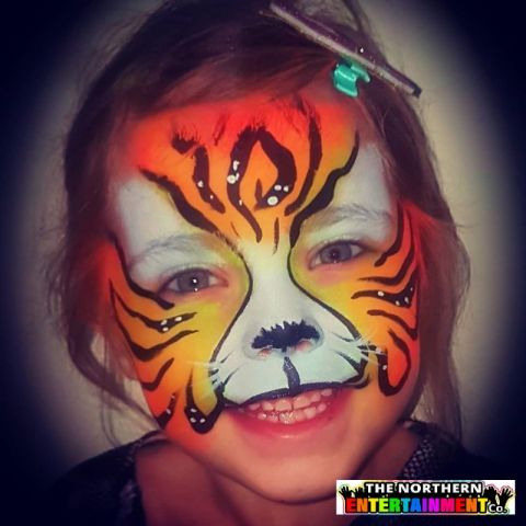 Face Painting And Glitter County Durham