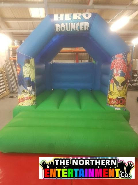 Super Heroes Bouncy Castle Hire County Durham