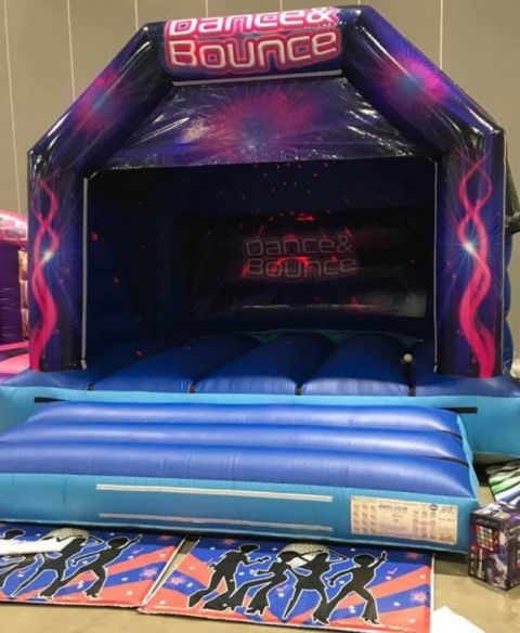 Adult Disco Castle With Speakers And Lights