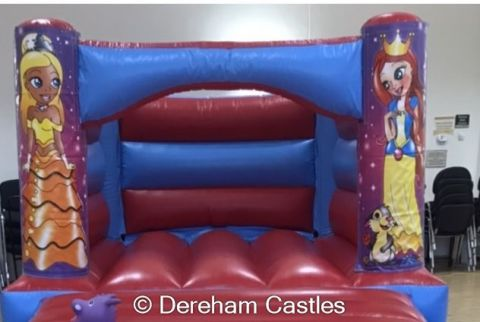 11ft X 15ft Low Height Princess Themed Bouncy Castle
