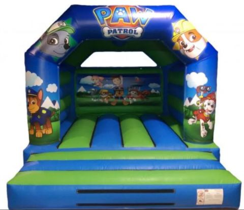 12ft X 15ft Paw Patrol Bouncy Castle For Liverpool