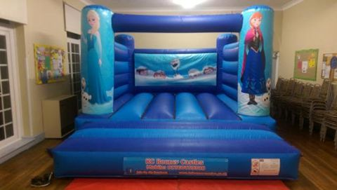 Frozen Indoor Bouncy Castle