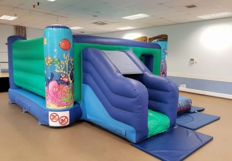 Sea Themed Bounce And Slide
