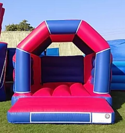 Red And Blue Velcro Castle