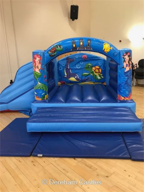 Mermaid Toddler Bounce And Slide