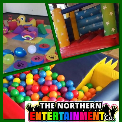 Bouncy Castle And Soft Play Party Package Hire County Durham