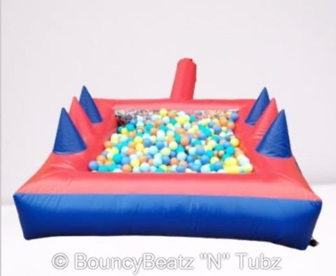 6ft X 6ft Superheroes Ball Pool